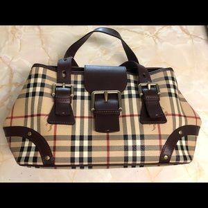 Burberry purse tote/ bolsa